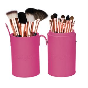 Picture of Mineral Makeup Brush Kit - Pink Case